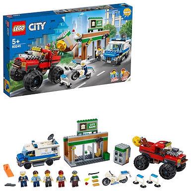LEGO City 60245 Police Monster Truck Heist at JJ Toys