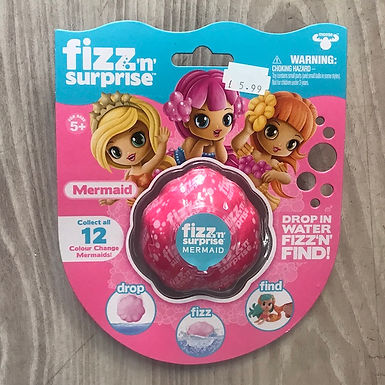 Fizz-n-Surprise Mermaid by Character Options on Localy.co.uk (GX1)