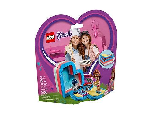 LEGO Friends 41387 Olivia's Summer Heart Box