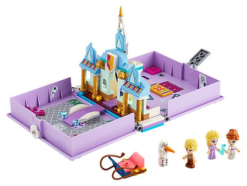 LEGO Disney 43175 Princess Anna and Elsa's Storybook Adventures at JJ Toys