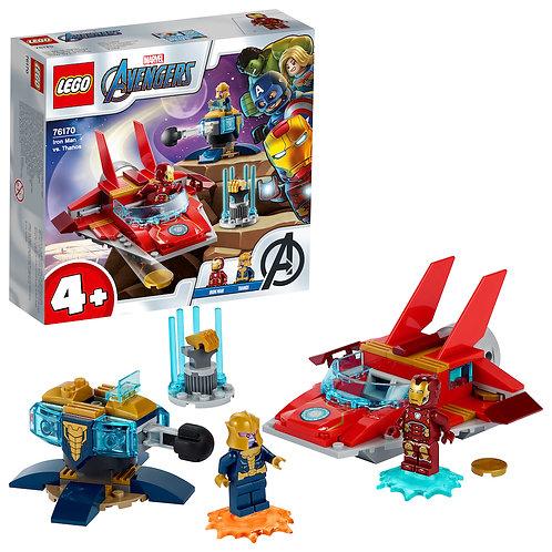 LEGO Marvel 76170 Iron Man vs Thanos