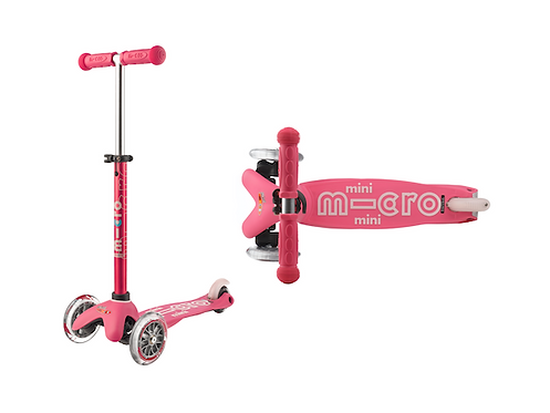 MINI MICRO DELUXE SCOOTER - PINK at JJ Toys