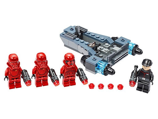 LEGO Star Wars 75266 Sith Troopers Battlepack Episode 9 at JJ Toys