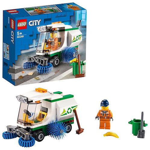 LEGO City 60249 Street Sweeper at JJ Toys