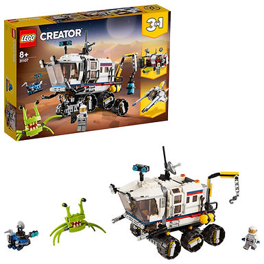 LEGO Creator 3-in-1 31107 Space Rover Explorer
