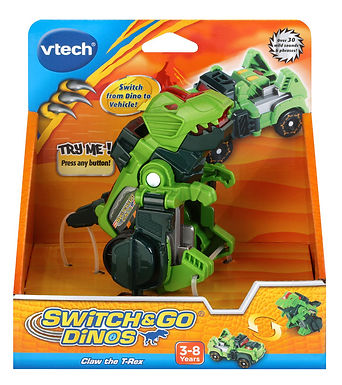 Vtech Switch & Go Dinos Claw the T-Rex -183103