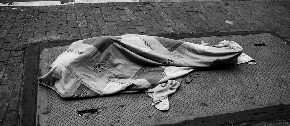 ALE RUARO'S PHOTOS SHOW THE GROWING POPULATION OF HOMELESS PEOPLE IN BRAZIL'S LARGEST CITY