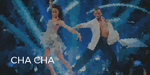 Cha Cha is a fun and flirty dance done to rhythmical Latin tempos.