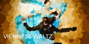 Viennese Waltz is danced to a faster version of waltz music with lots of rotation!