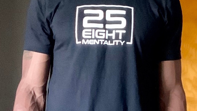 25 Eight Mentality Logo T-Shirt