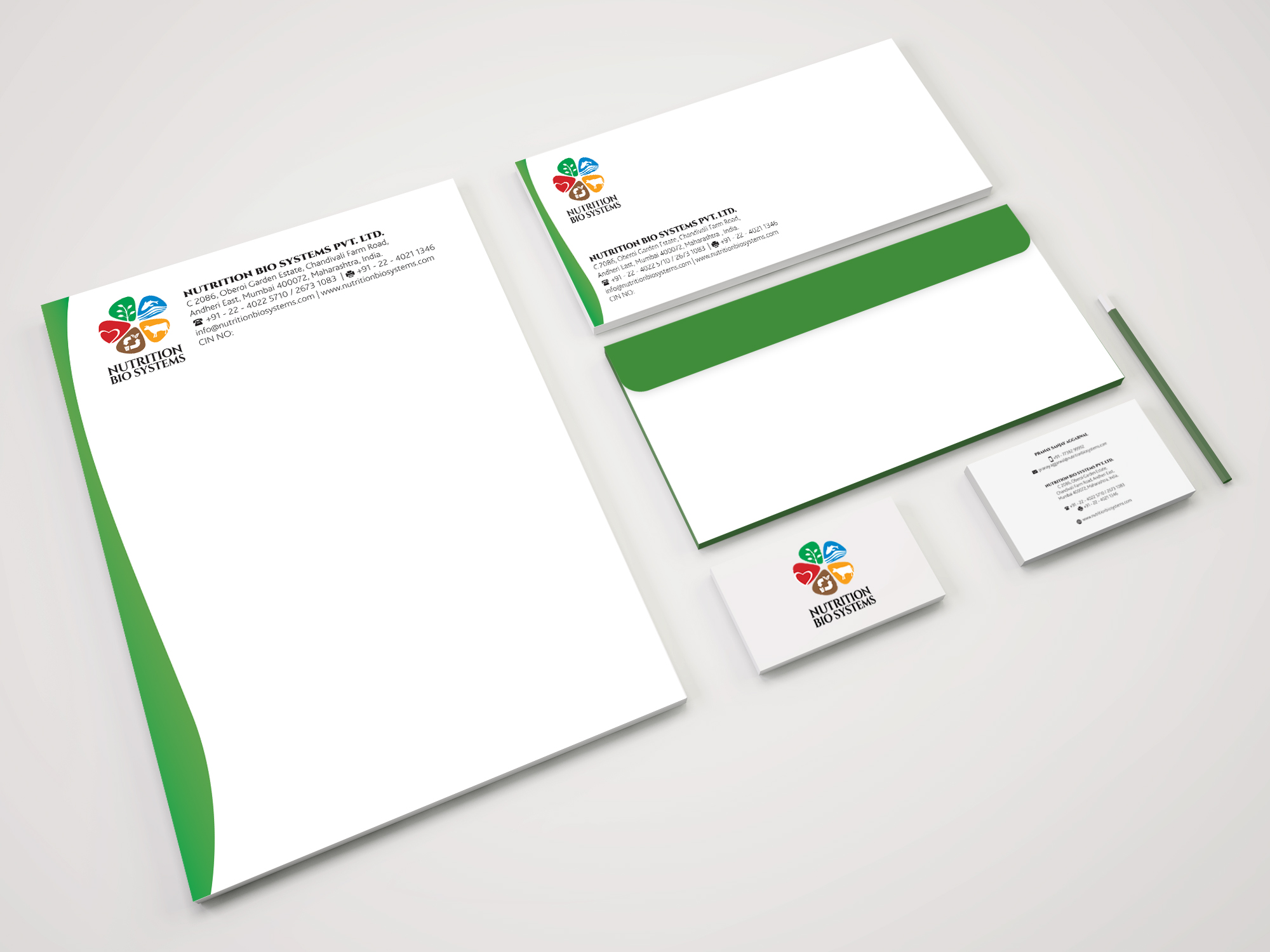 NBS complete Stationery