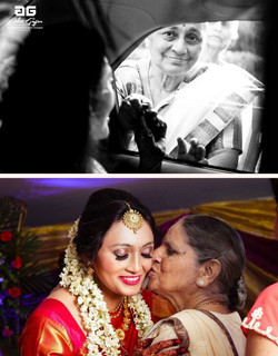 Bride has to go through so many emotions in a single day, from saying goodbye to your family with th