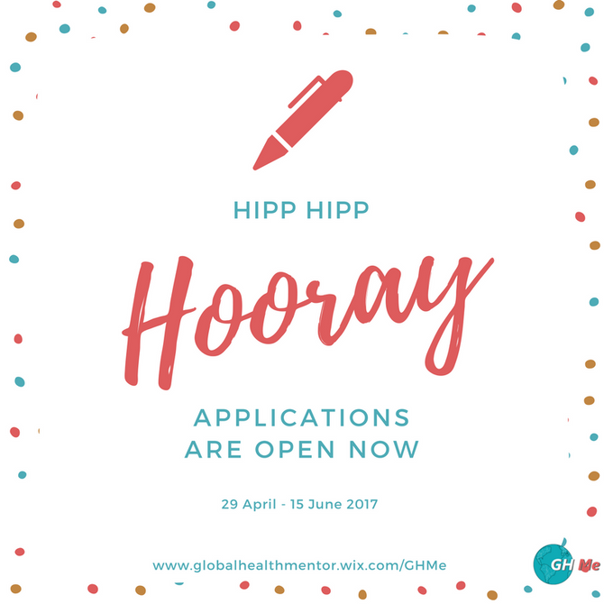 Applications are now open