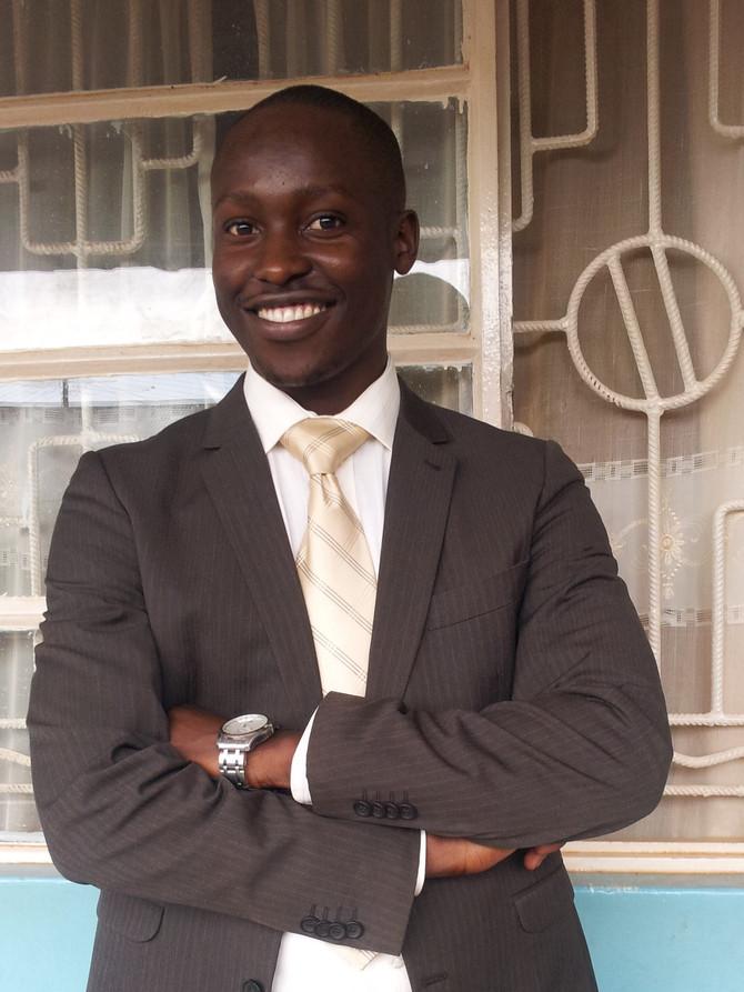 Meet our new team member: Joseph Muwonge Junior