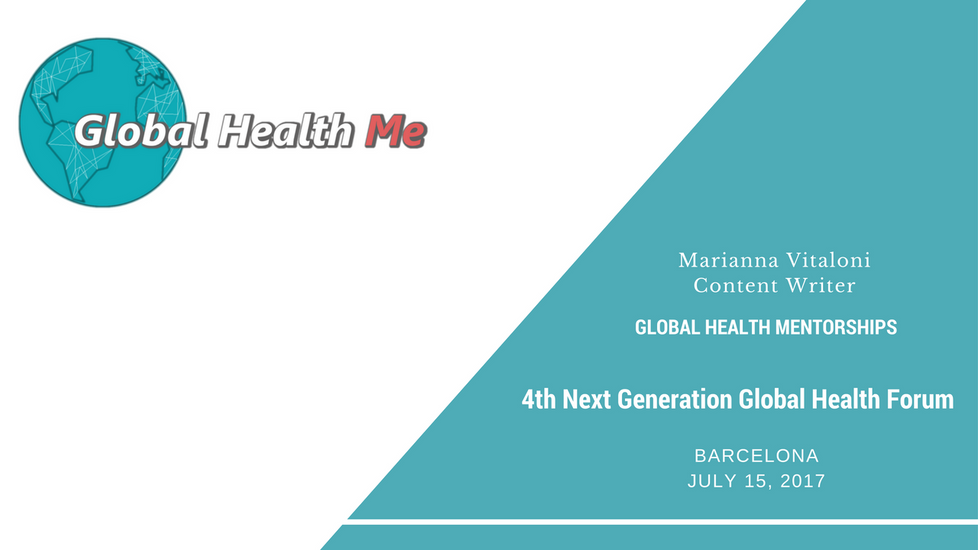 Seeking mentors in Global Health? The GHMe workshop at the 4th Global Health Next Generation Network