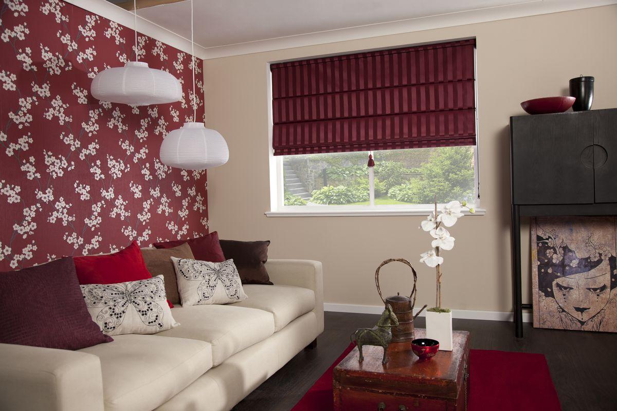 Romantismo na forma de cortina