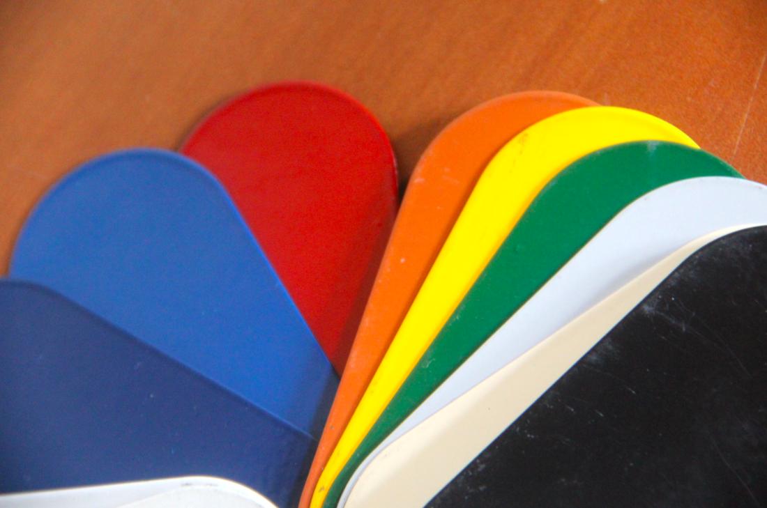 Amplo leque de cores