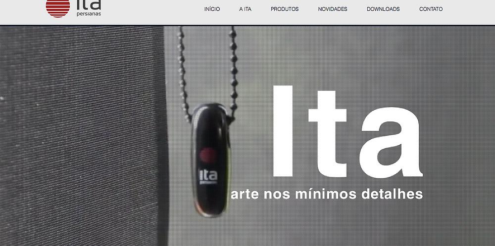 Capa do novo site