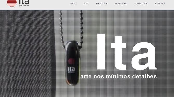 Novo site Ita!