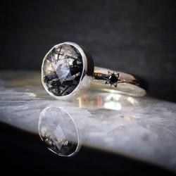 Black Diamonds and Rosecut Tourmalin