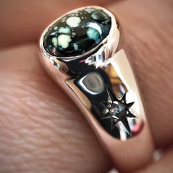 Stargazer Signet by Black Fawn Jewelry