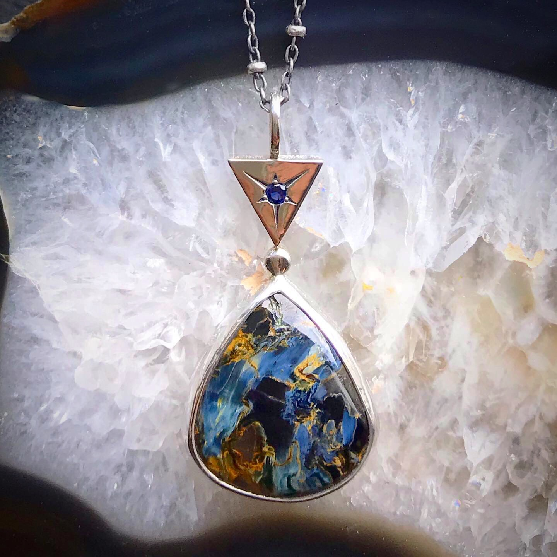 Pietersite Necklace by Alicia Bucks
