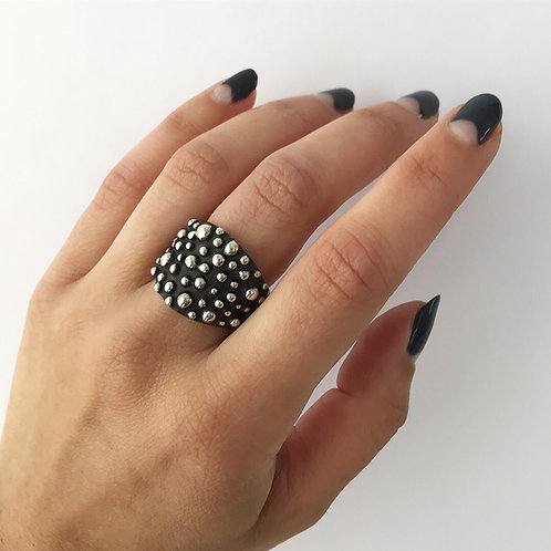 Hidden Depths Ring | Sterling Silver | Any Size