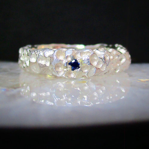 """""""Sapphire in Snow"""" 