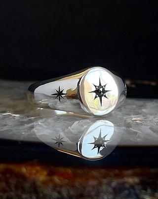 Black Diamond Orion Signet | Size: 6-6.25, 7.75