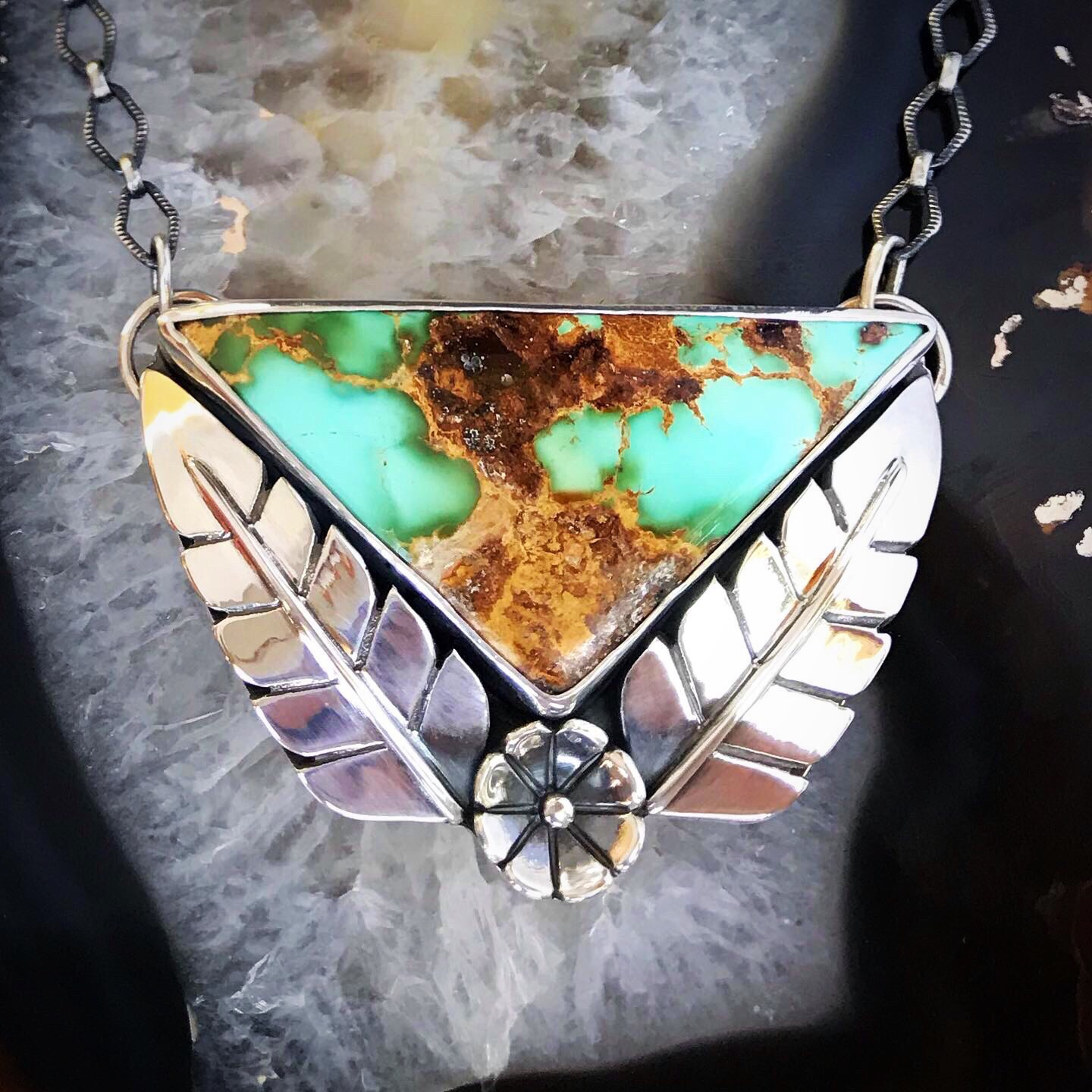 Royston Turquoise by Black Fawn Jewelry