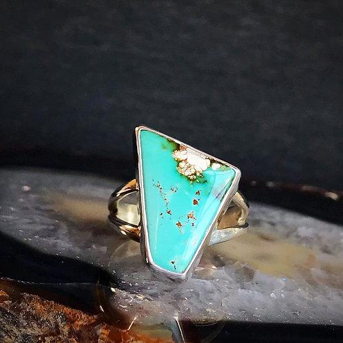 Royston Polygon Ring | Size 6.5