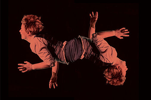 An artistic composite rendering of a circus performance artist, Emma Serjeant. Circus, contemporary circus, Chicago circus, workshops, masterclasses, workshop, masterclass