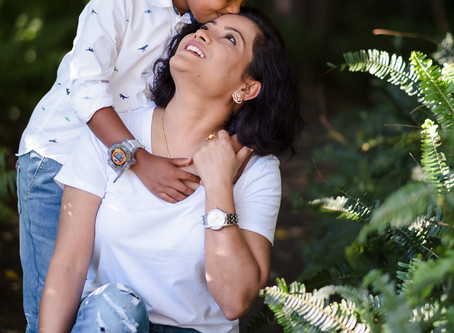 Narbada's Mother and Son Shoot