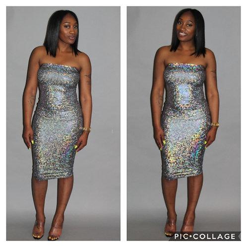 Shimmer Body Dress