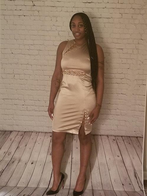 Chain silk Dress