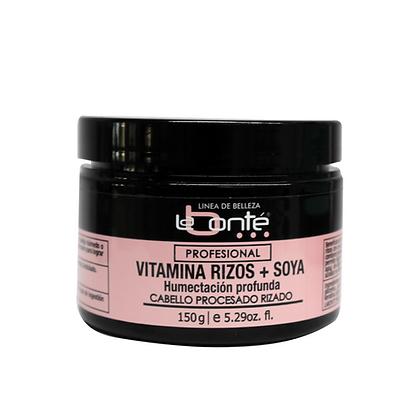 Vitamina Rizos + Soya