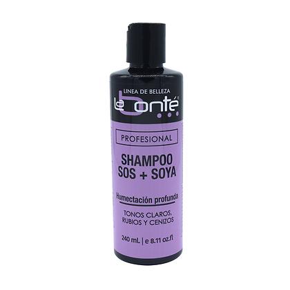 Shampoo SOS + Soya
