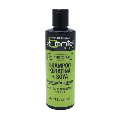 Shampoo Keratina + Soya