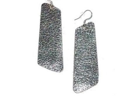 Leather Trap Earrings