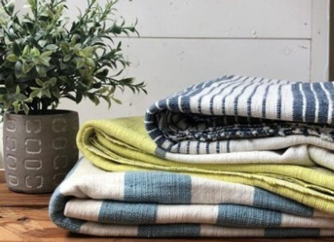 Hand-Woven Large Towel