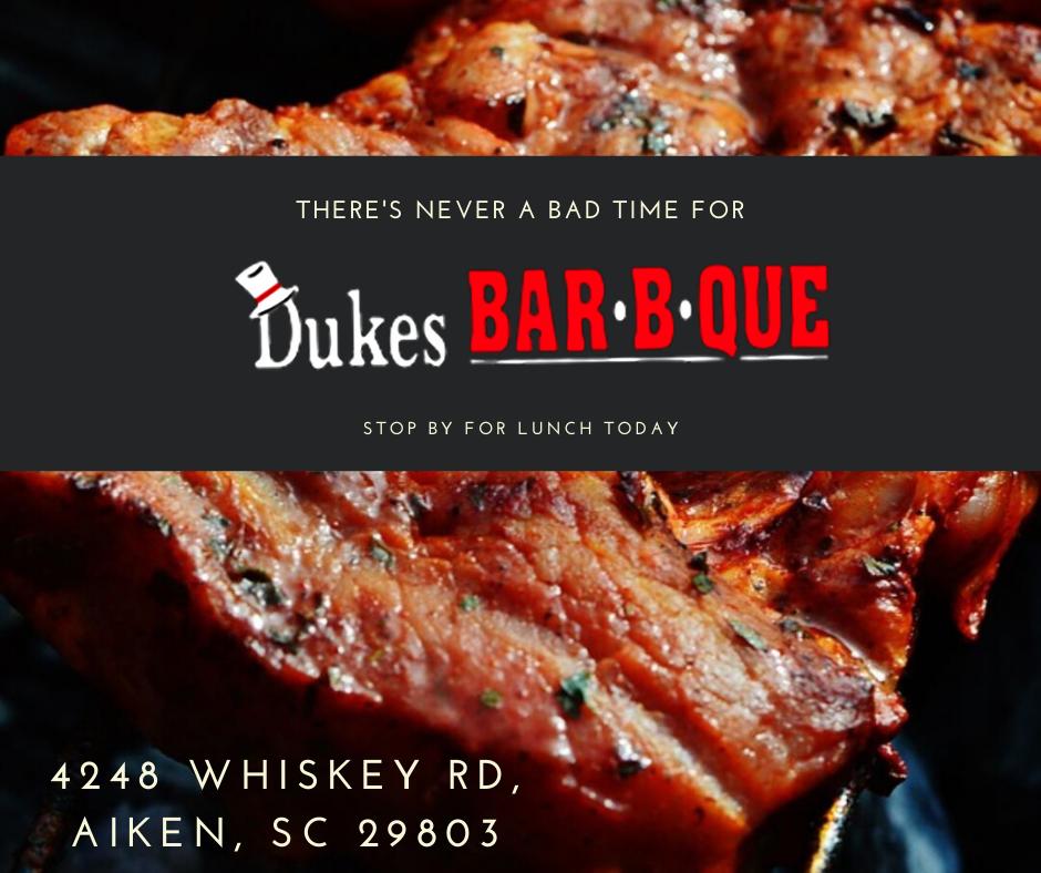 Duke's BBQ Instagram Post