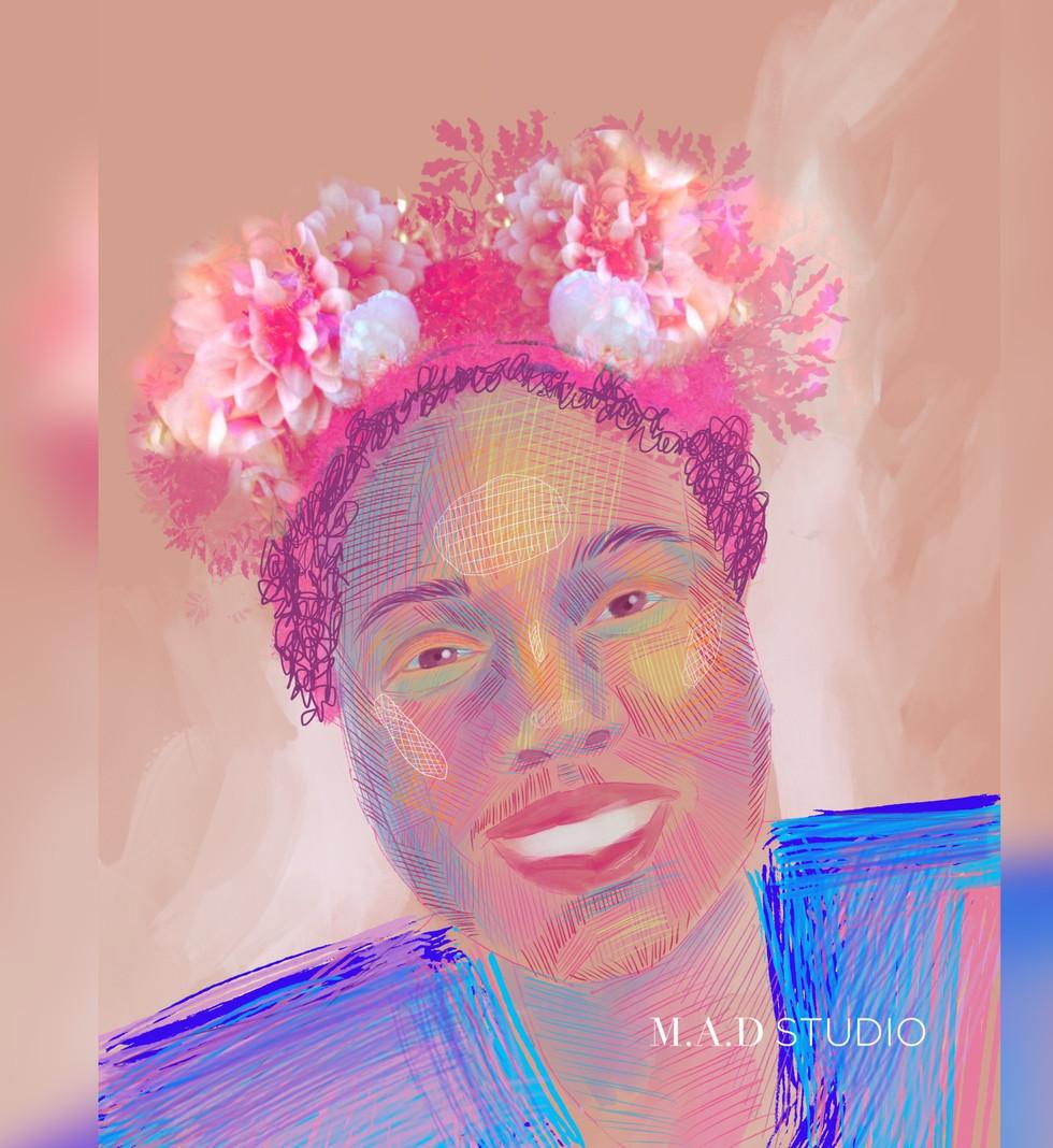 """""""Alexis Self Portrait"""""""