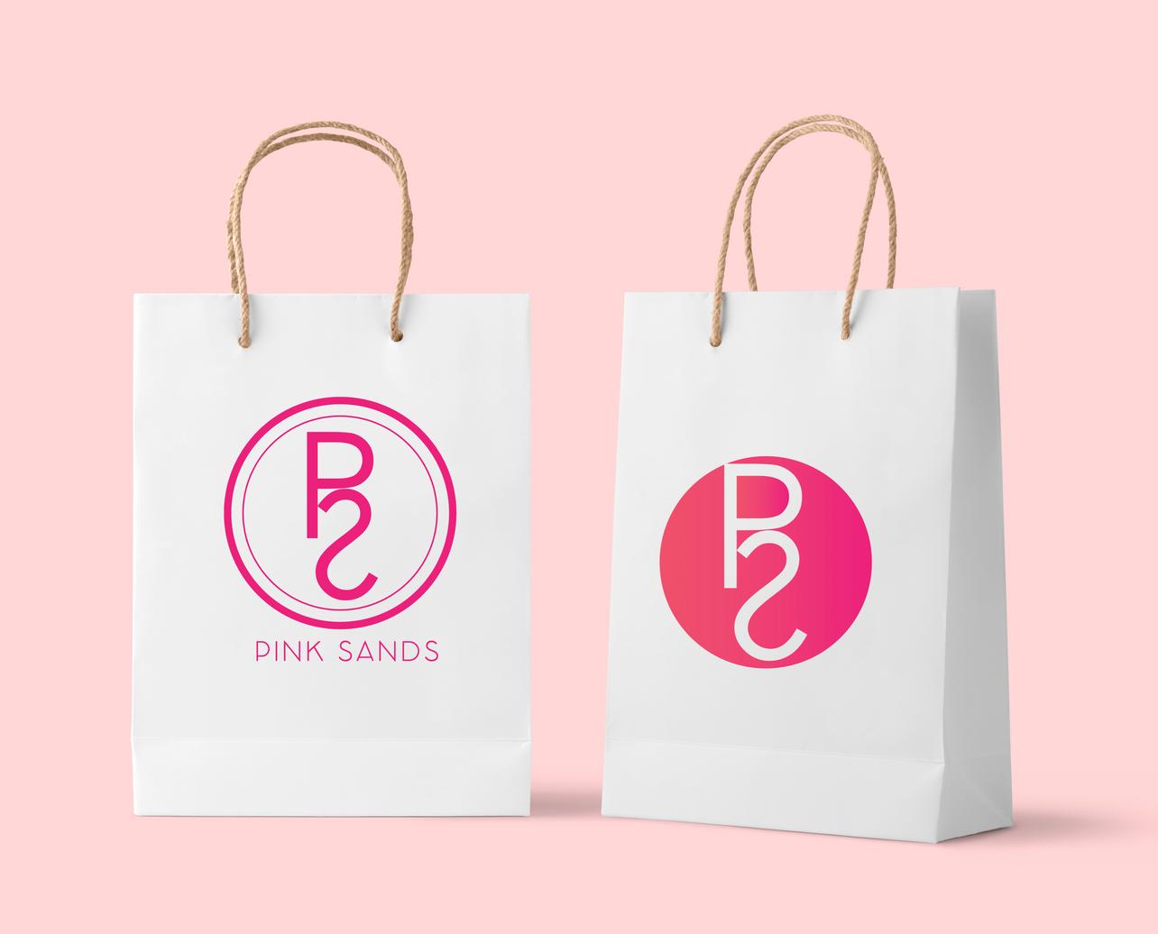Pink Sands Bag