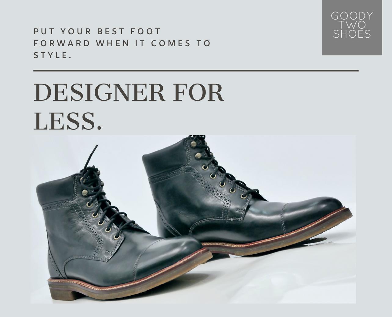 Designer For Less Mens Shoes Instagram Post