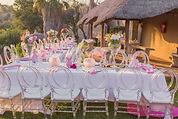 Bridal shower or baby shower event decor