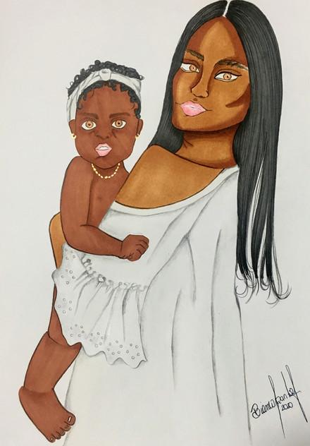 Carte de Uma Mãe