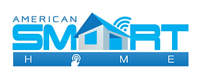 American Smart Home Final Logo with Glow