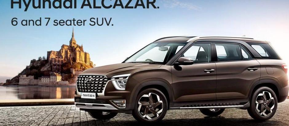 Hyundai Alcazar - An extended Creta?