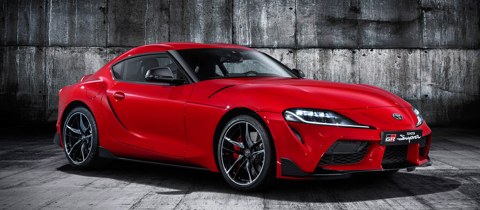 The Legend is back. Toyota finally reveals the all-new SUPRA.