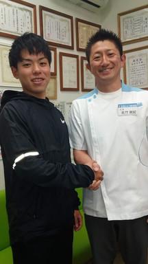関西学院 北村遥大選手